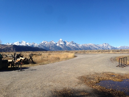 Views from Gros Ventre Rd